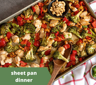 General Tao Sheet Pan Chicken