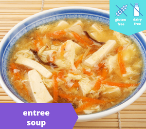 Pork and Veggie Hot & Sour Soup — freezer meal