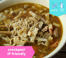 Load image into Gallery viewer, Asian Chicken Noodle Soup — freezer meal