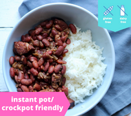 New Orleans Red Beans & Rice — freezer meal