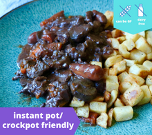 Load image into Gallery viewer, Beef Bourguignon — freezer meal