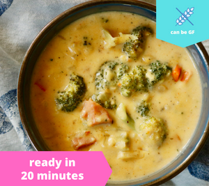 Broccoli Ham & Cheese Soup — October 26