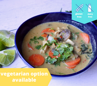 Thai Coconut Green Curry — freezer meal