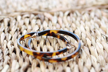 Load image into Gallery viewer, Tortoiseshell Hoops