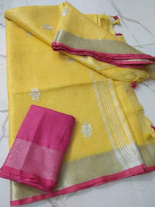 Fresh Yellow Linen - Indian String