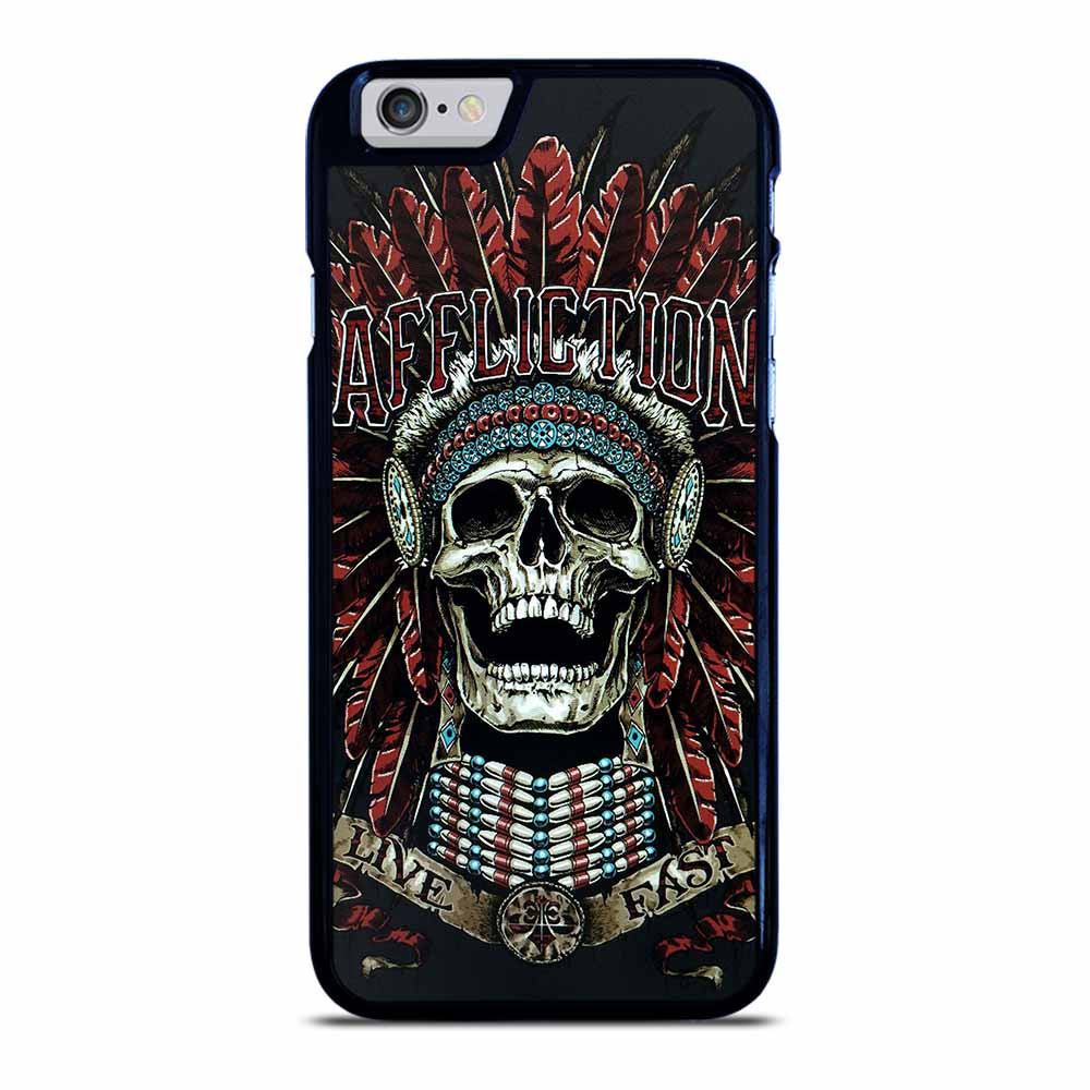 AFFLICTION SKULL INDIAN iPhone 6 / 6S Case