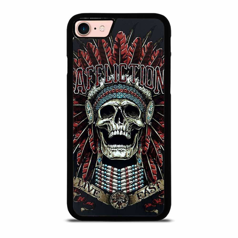 AFFLICTION SKULL INDIAN iPhone 7 / 8 Case