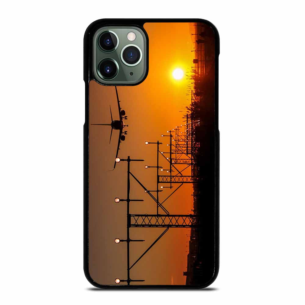 AIRPLANE OVER SUNSET #1 iPhone 11 Pro Max Case