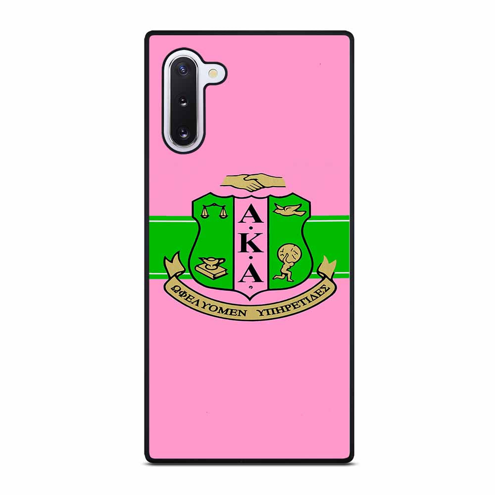 AKA PINK AND GREEN Samsung Galaxy Note 10 Case
