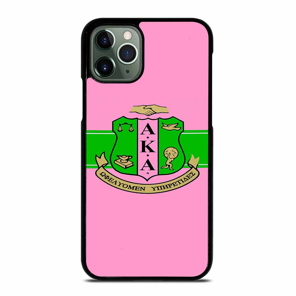 AKA PINK AND GREEN iPhone 11 Pro Max Case