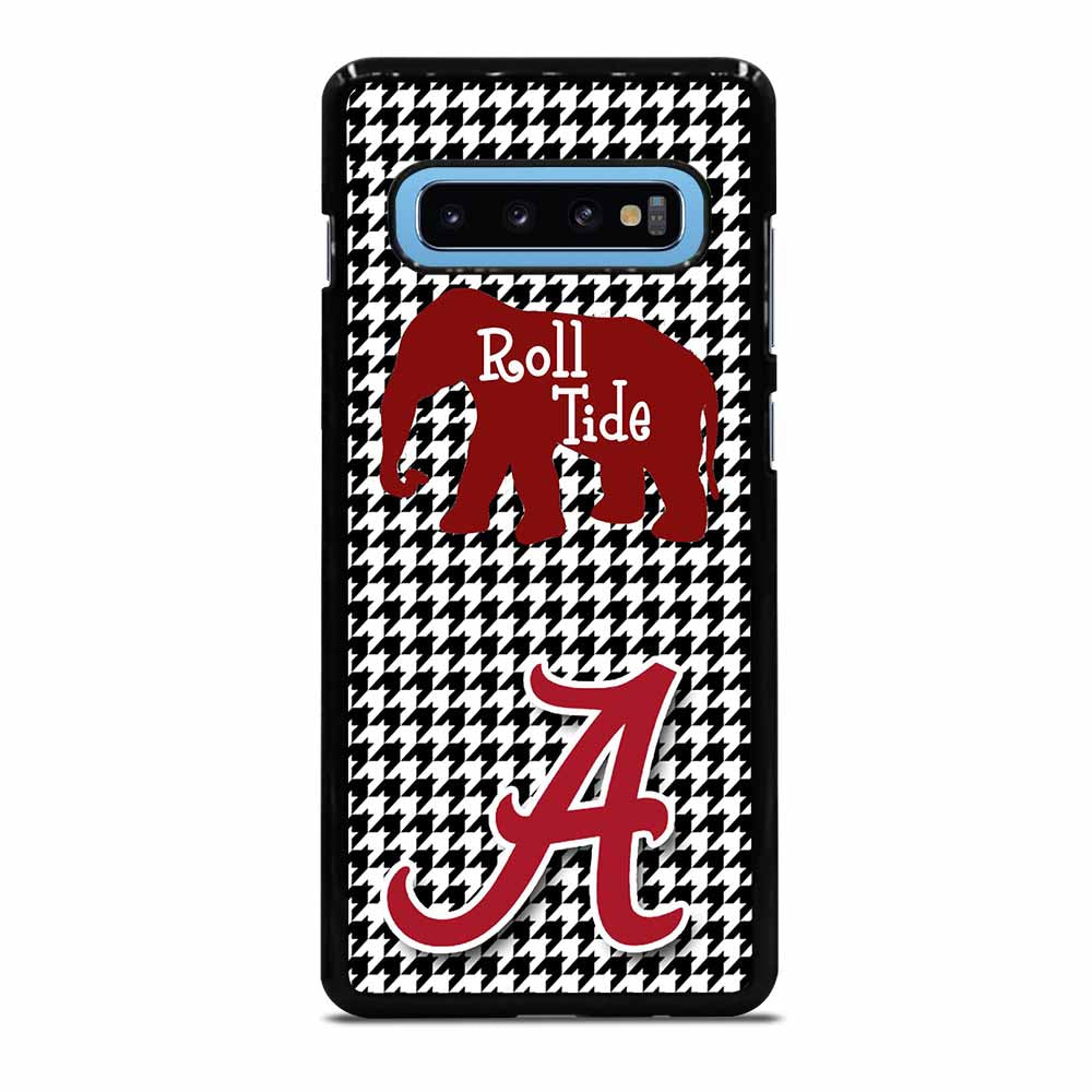 ALABAMA CRIMSON TIDE HOUNDSTOOTH Samsung Galaxy S10 Plus Case