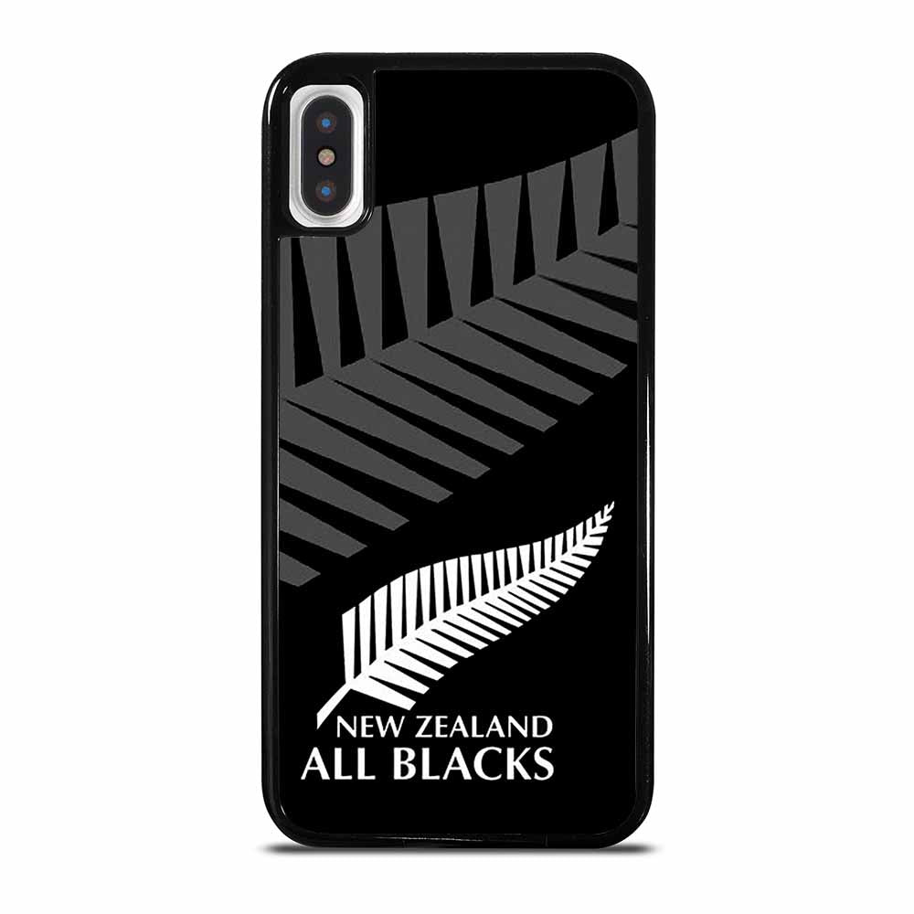 ALL BLACKS NEW ZEALAND RUGBY 3 iPhone X / XS case