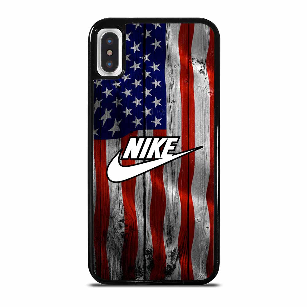 AMERICAN FLAG NIKE iPhone X / XS case