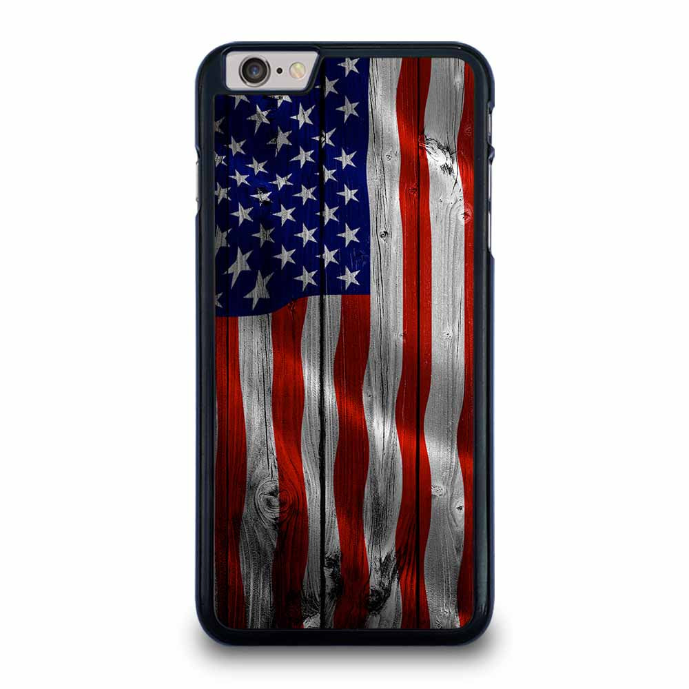 AMERICAN FLAG USA WOOD iPhone 6 / 6s Plus Case