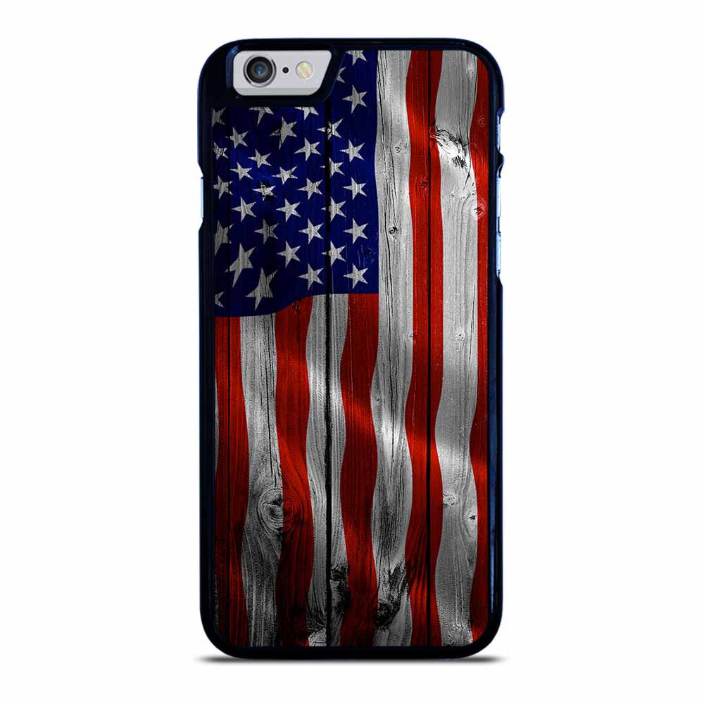 AMERICAN FLAG USA WOOD iPhone 6 / 6S Case