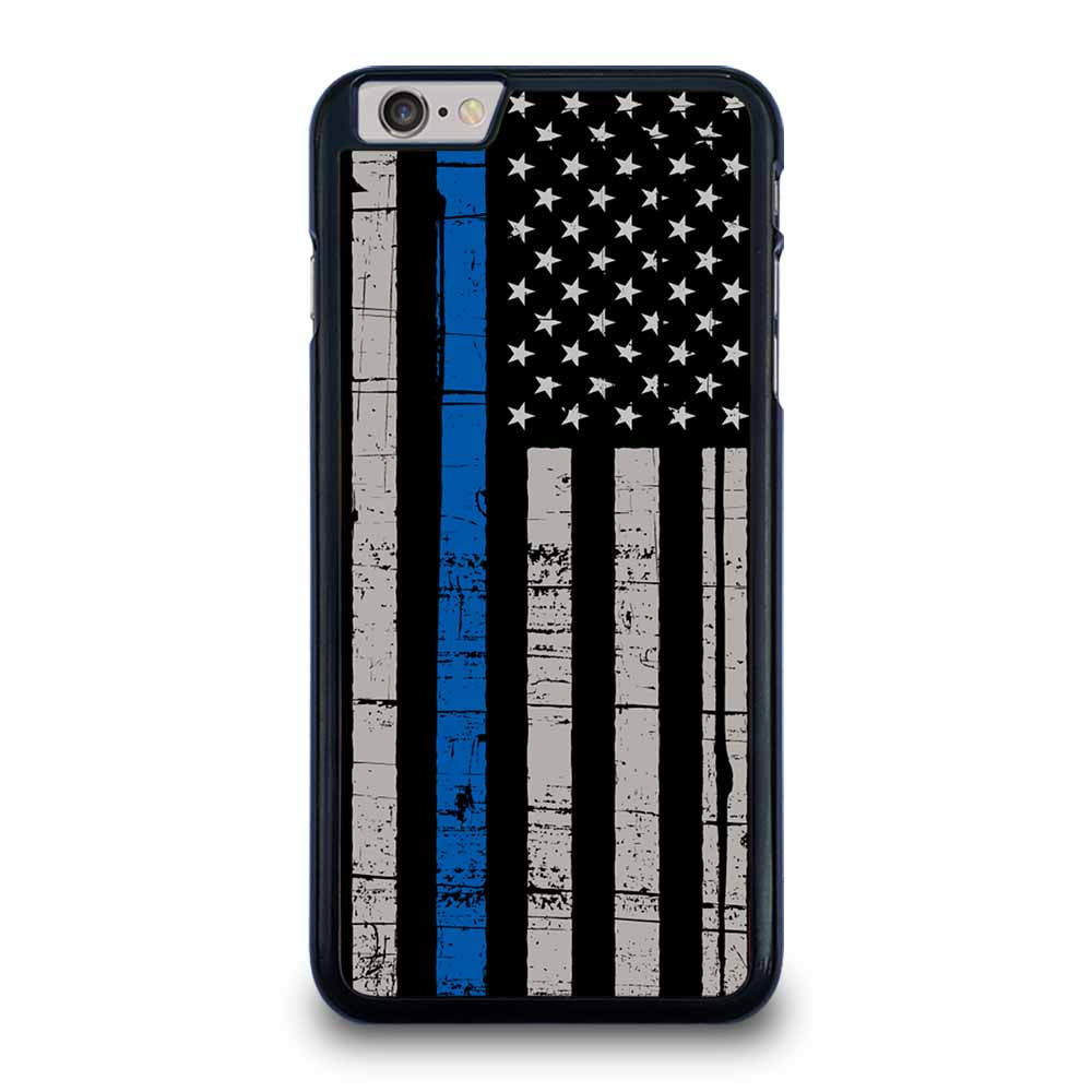 AMERICAN POLICE BLUE LINE FLAG iPhone 6 / 6s Plus Case