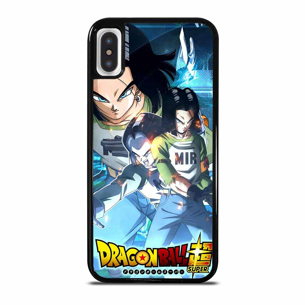 ANDROID 17 DRAGON BALL iPhone X / XS case