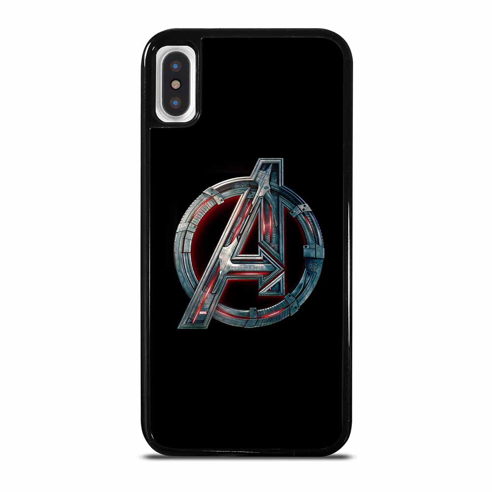 AVENGERS MARVEL LOGO iPhone X / XS case
