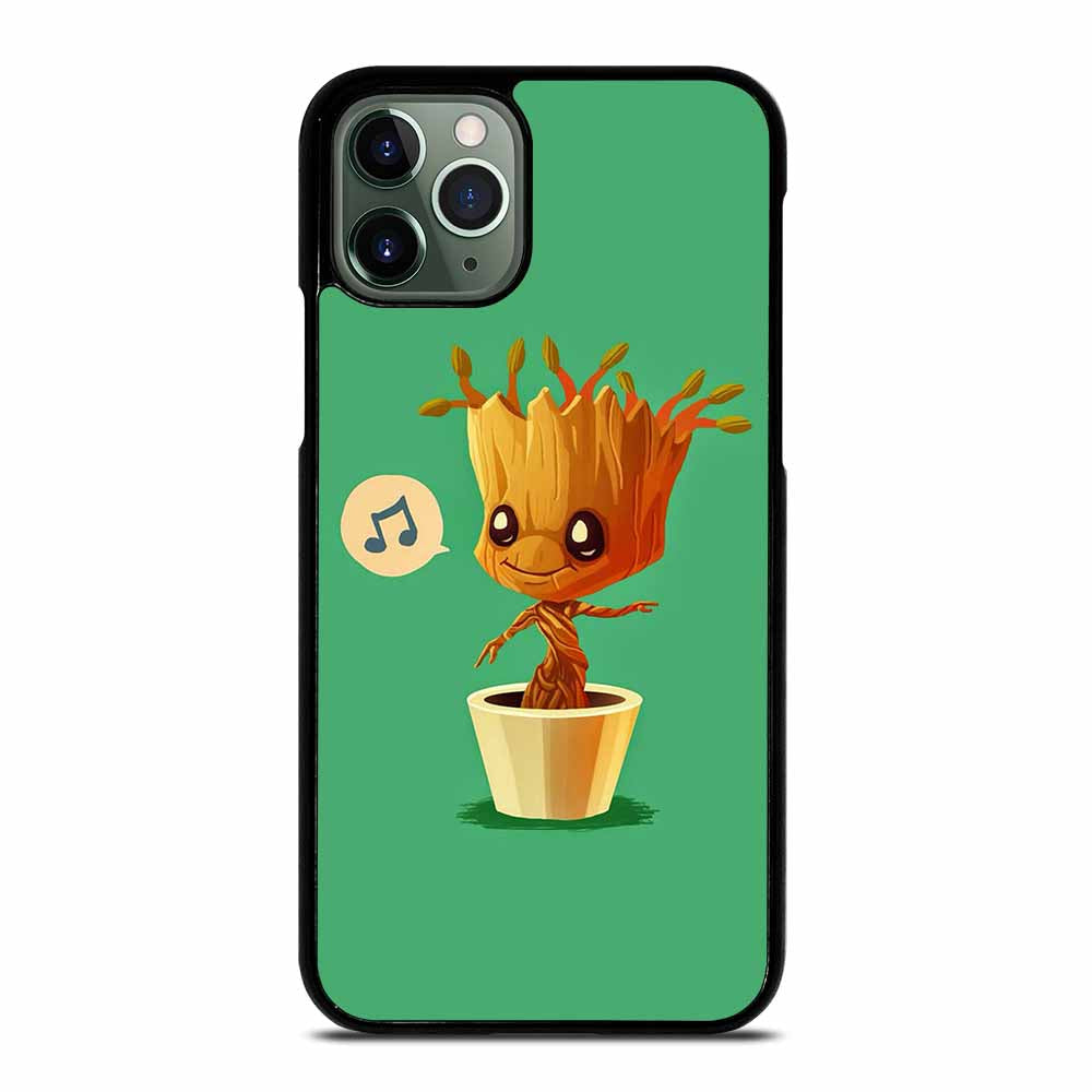 BABY GROOT HUMMING iPhone 11 Pro Max Case