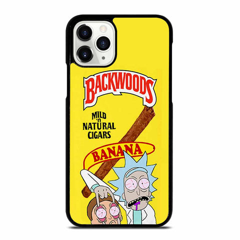 BACKWOODS RICK AND MORTY iPhone 11 Pro Case