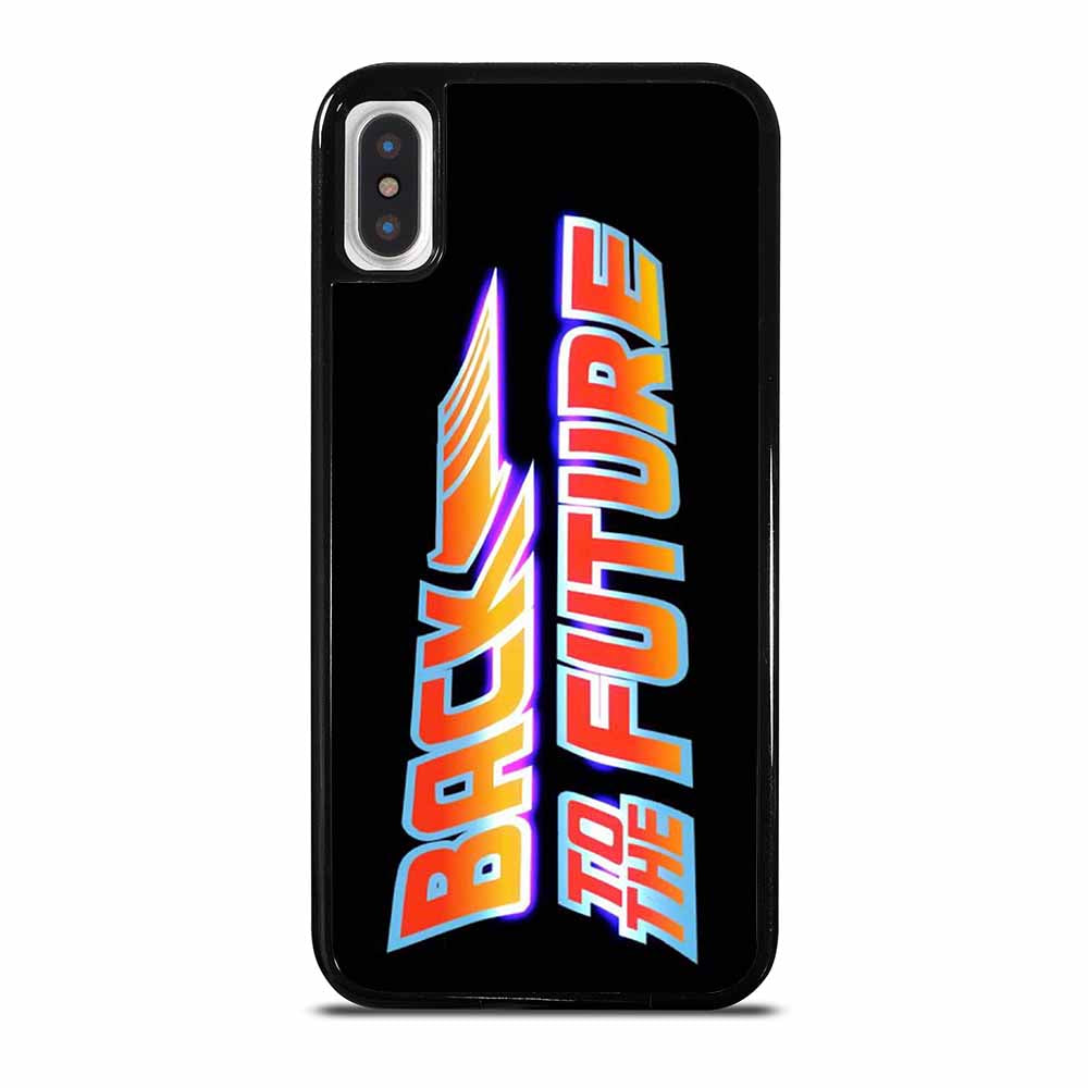 BACK TO THE FUTURE 1 iPhone X / XS case