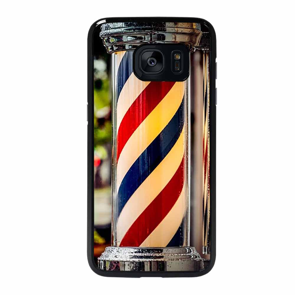 BARBER POLE HAIR CUT #1 Samsung Galaxy S7 Edge Case