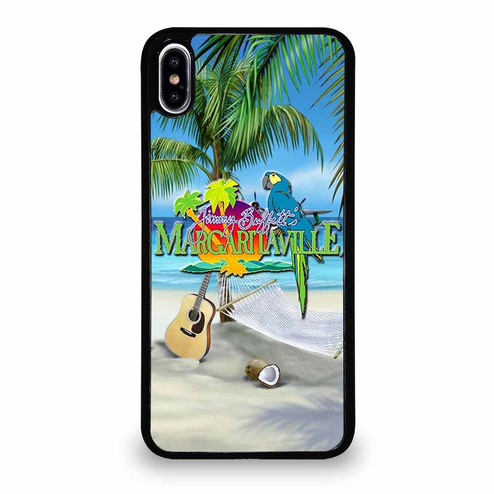 BEACH JIMMY BUFFETS MARGARITAVILLE iPhone XS Max Case