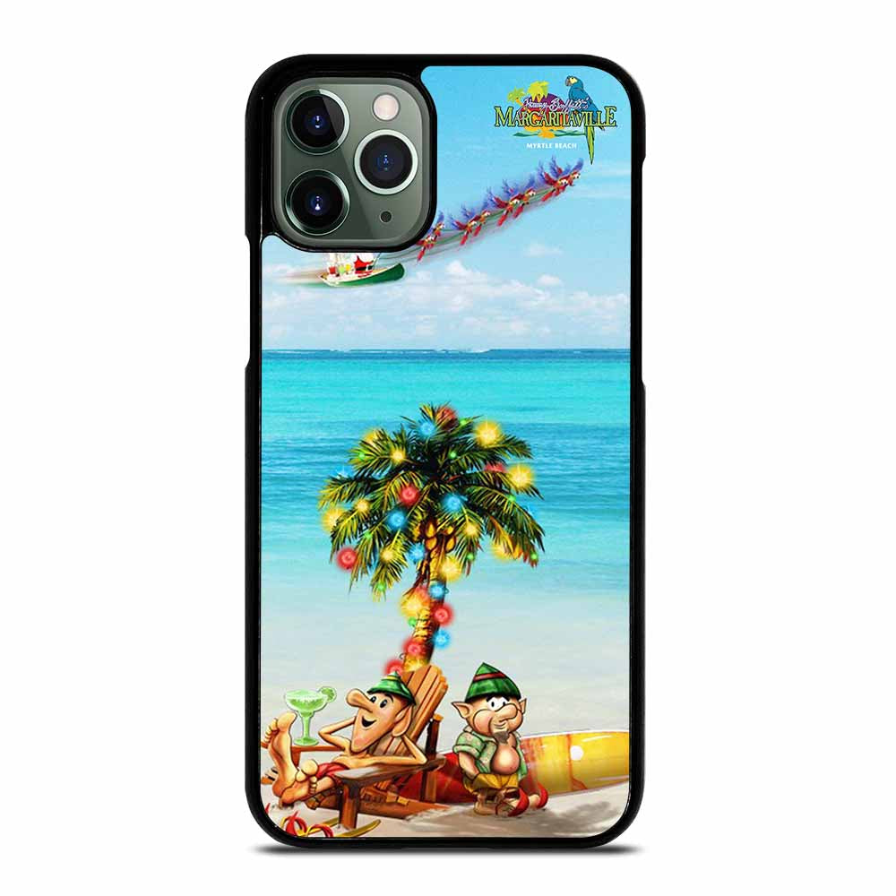BEACH JIMMY BUFFETS MARGARITAVILLE CHRISTMAS iPhone 11 Pro Max Case