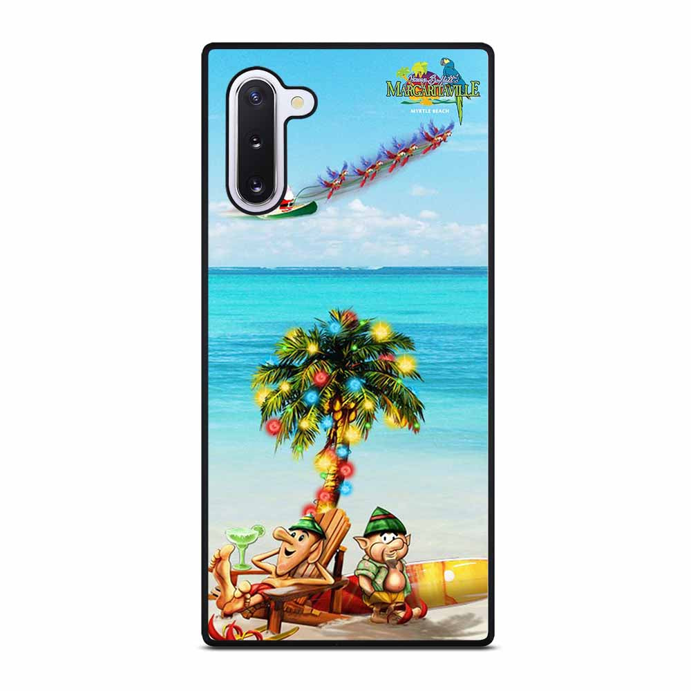 BEACH JIMMY BUFFETS MARGARITAVILLE CHRISTMAS Samsung Galaxy Note 10 Case