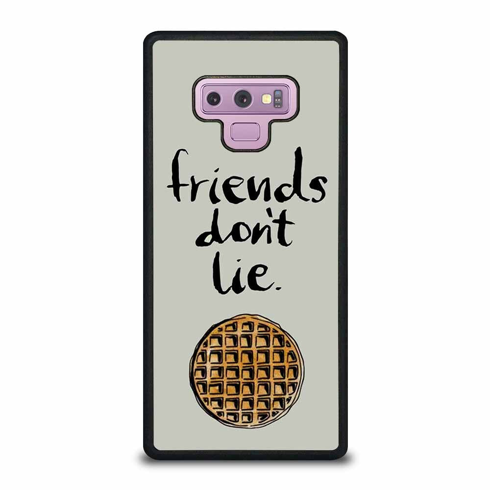 BEST FRIENDS DON'T LIE WAFFLE STRANGER THINGS Samsung Galaxy Note 9 case