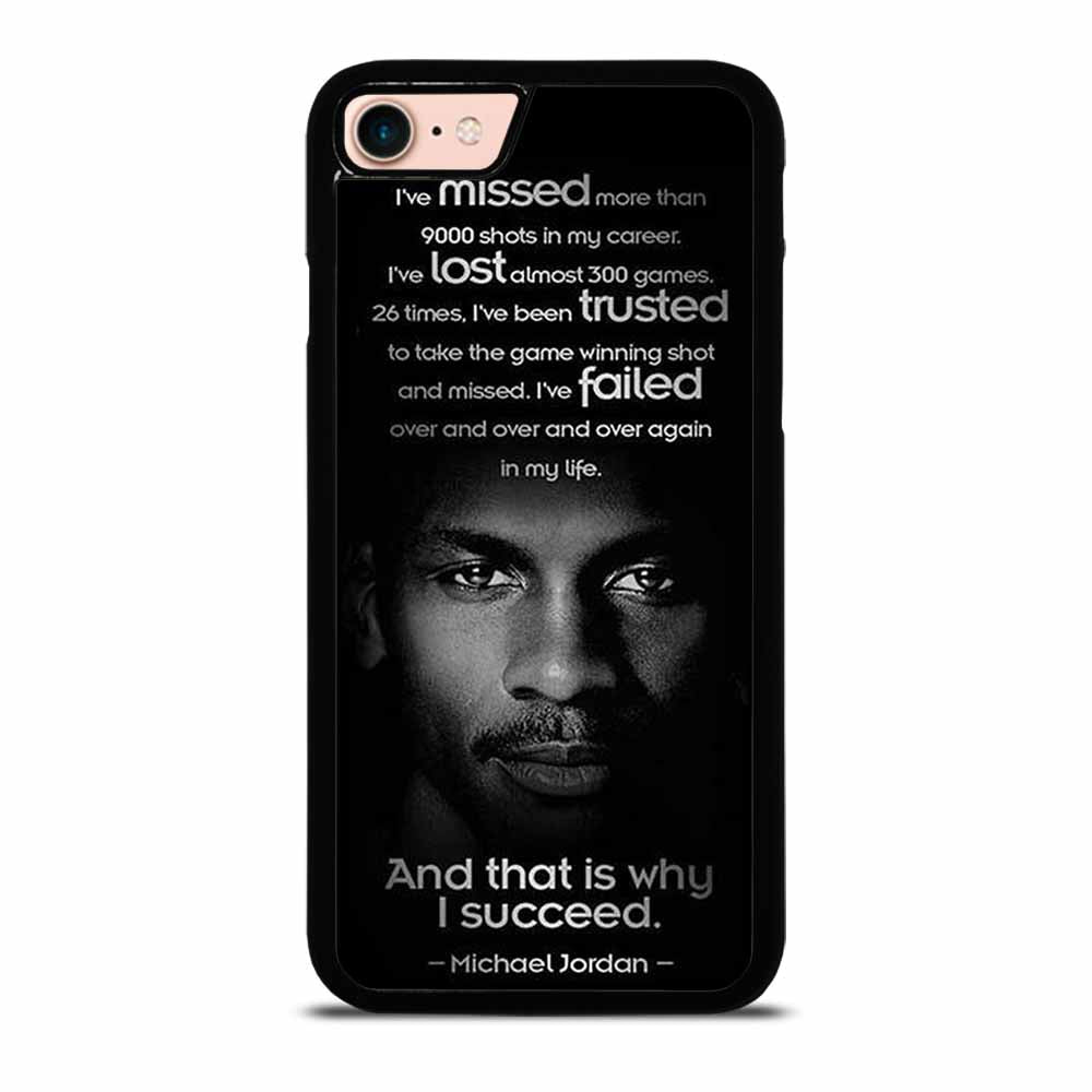 BEST MICHAEL JORDAN QUOTE iPhone 7 / 8 Case