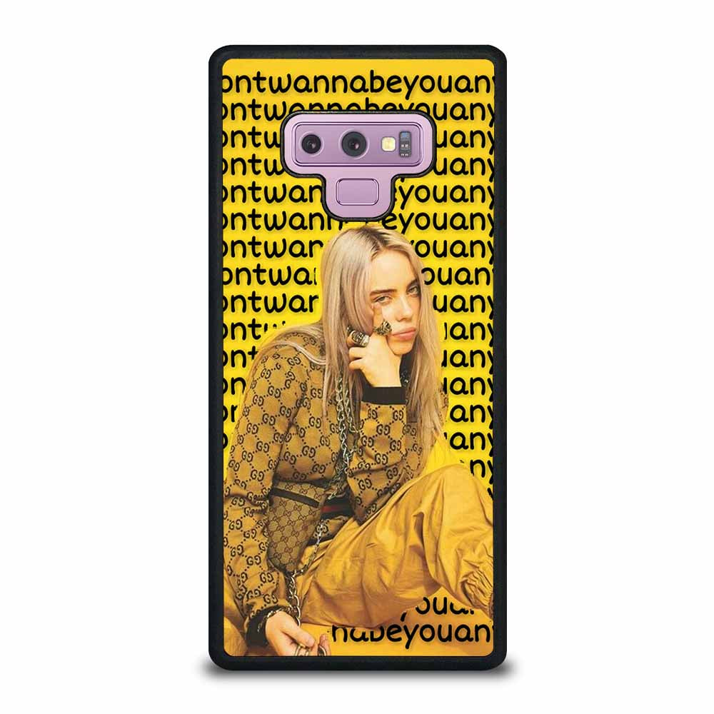 BILLIE EILISH SINGER #4 Samsung Galaxy Note 9 case