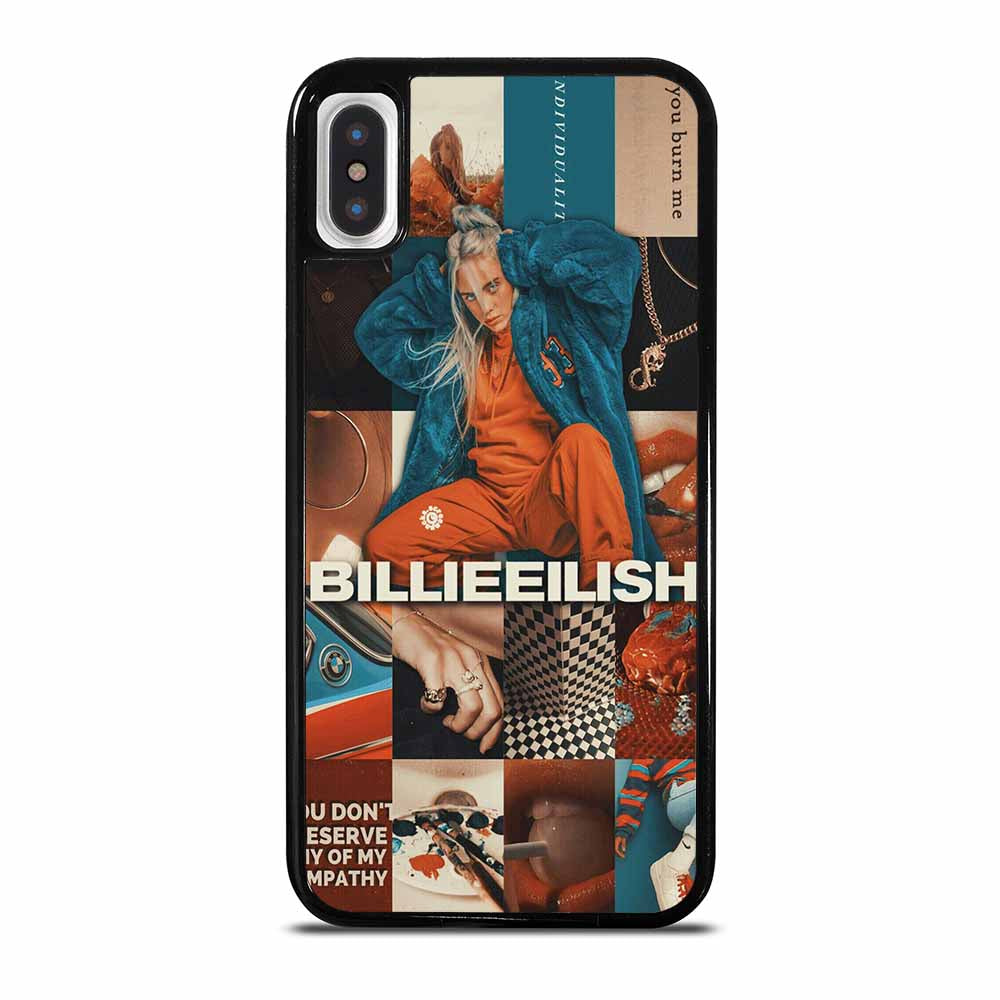 BILLIE EILISH SINGER COLLAGE iPhone X / XS case