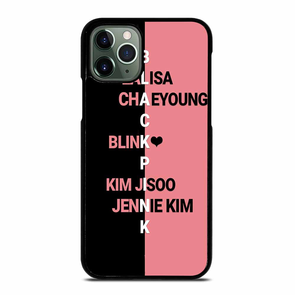 BLACKPINK KPOP NAME iPhone 11 Pro Max Case