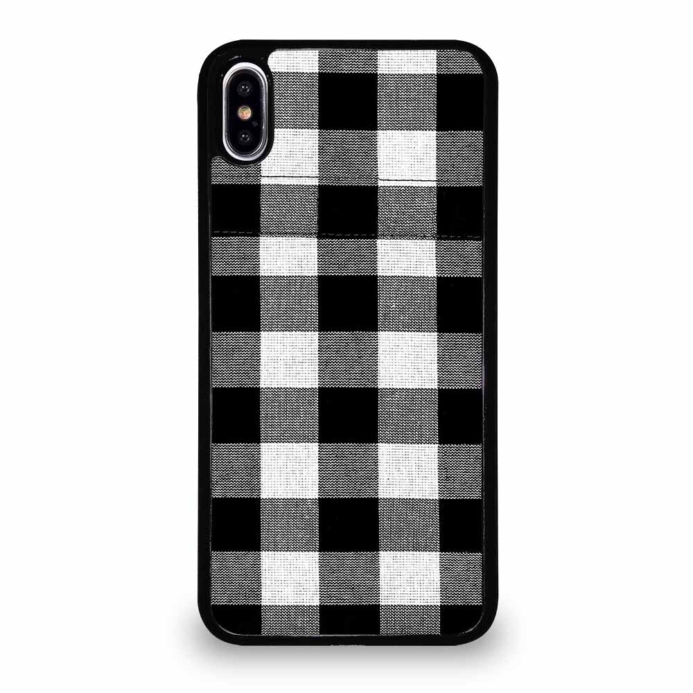BLACK AND WHITE BUFFALO iPhone XS Max Case
