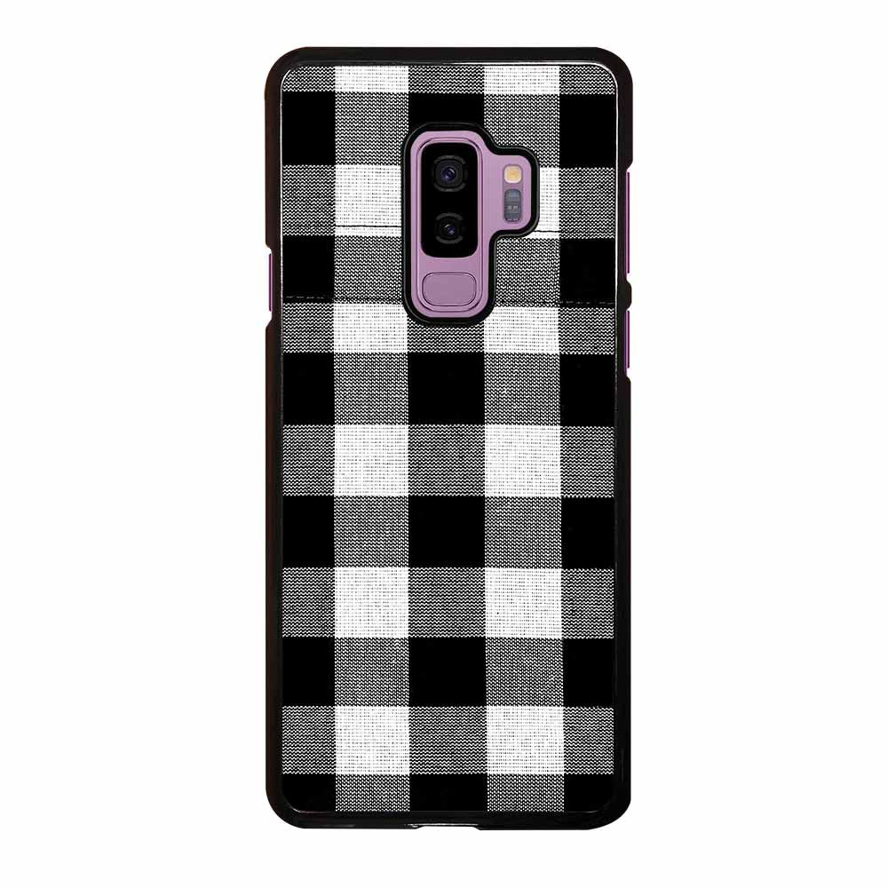 BLACK AND WHITE BUFFALO Samsung Galaxy S9 Plus Case
