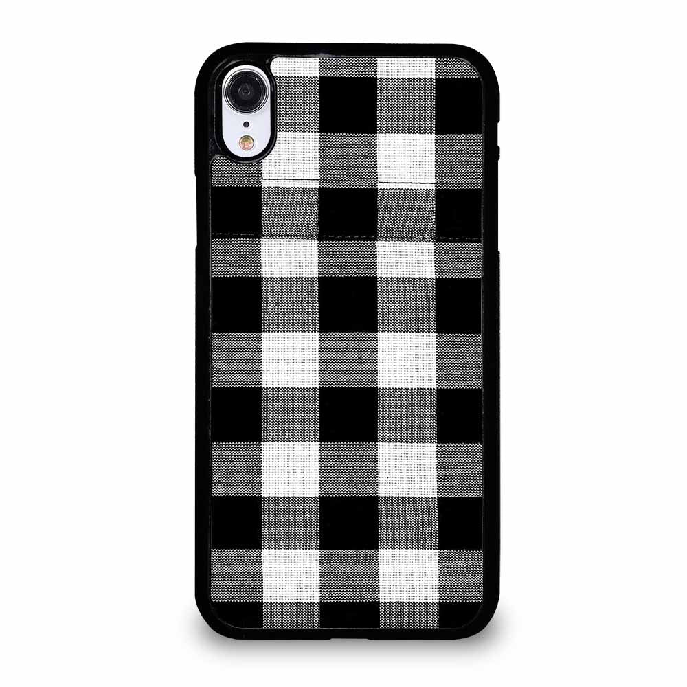 BLACK AND WHITE BUFFALO iPhone XR Case
