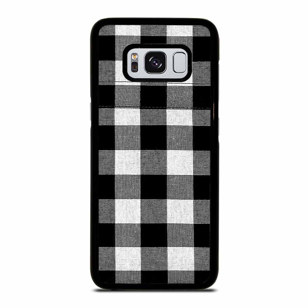 BLACK AND WHITE BUFFALO Samsung Galaxy S8 Case