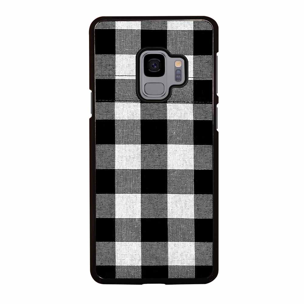 BLACK AND WHITE BUFFALO Samsung Galaxy S9 Case