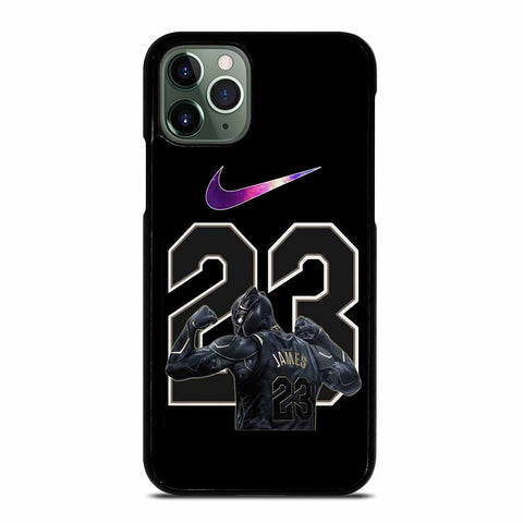 BLACK PANTHER LEBRON JAMES GALAXY iPhone 11 Pro Max Case
