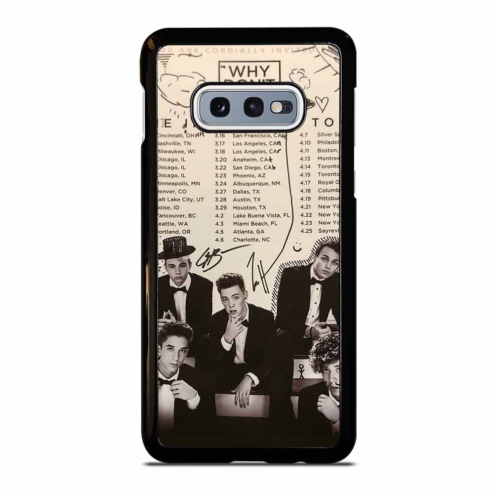 BLACK WHITE WHY DON'T WE #1 Samsung Galaxy S10e case