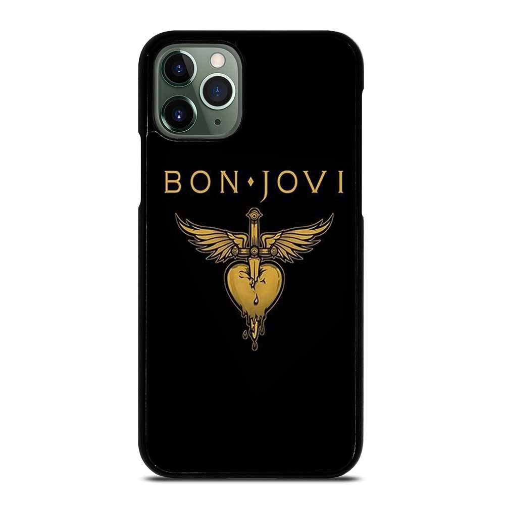 BON JOVI MUSIC ROCK LOGO iPhone 11 Pro Max Case