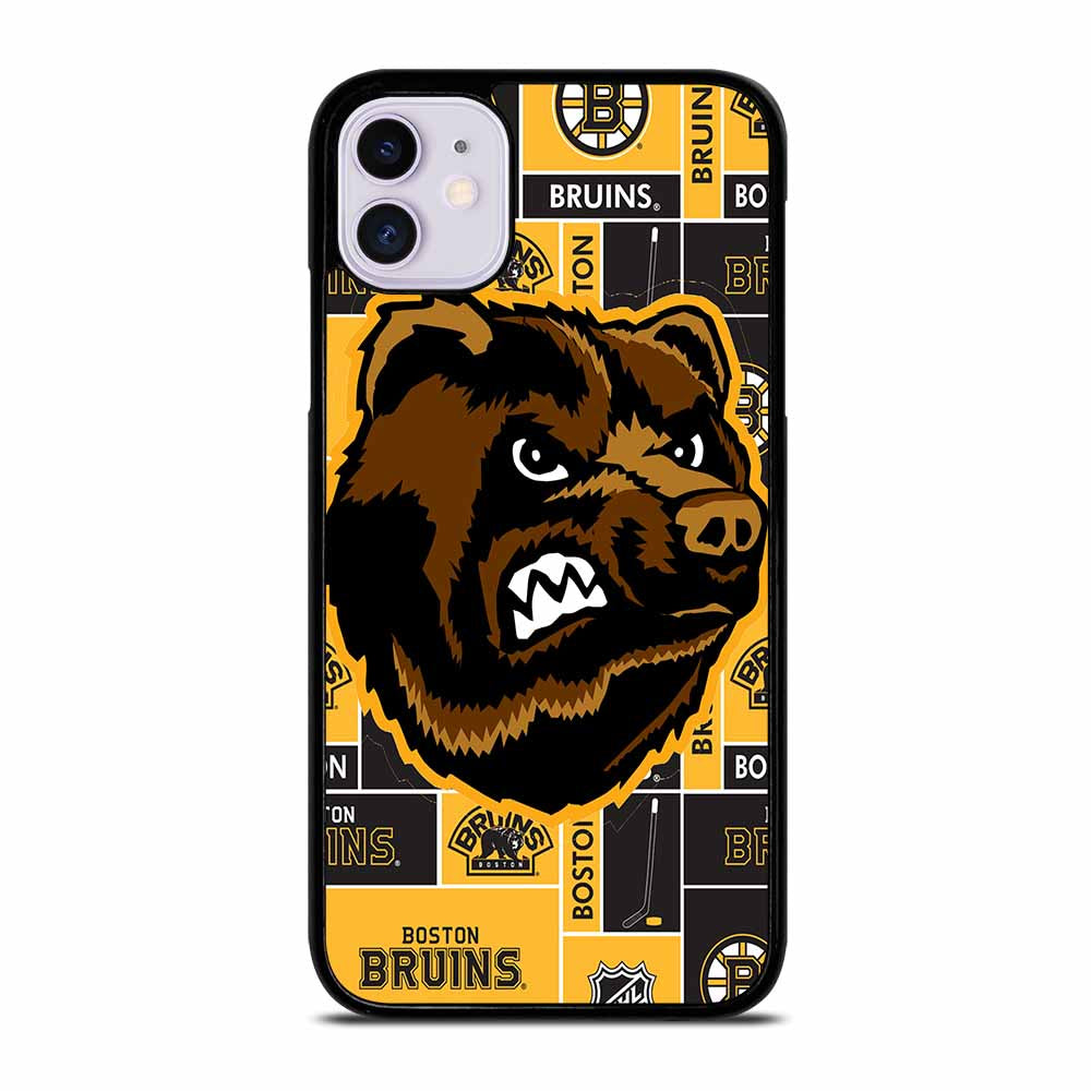 BOSTON BRUINS HOCKEY iPhone 11 Case