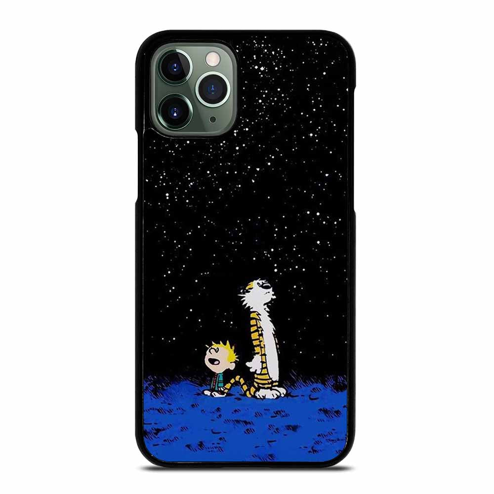 CALVIN AND HOBBES LOOKING THE STAR iPhone 11 Pro Max Case