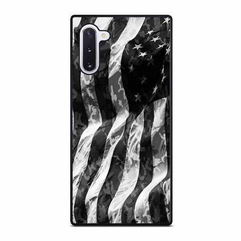 CAMO AMERICAN FLAG Samsung Galaxy Note 10 Case