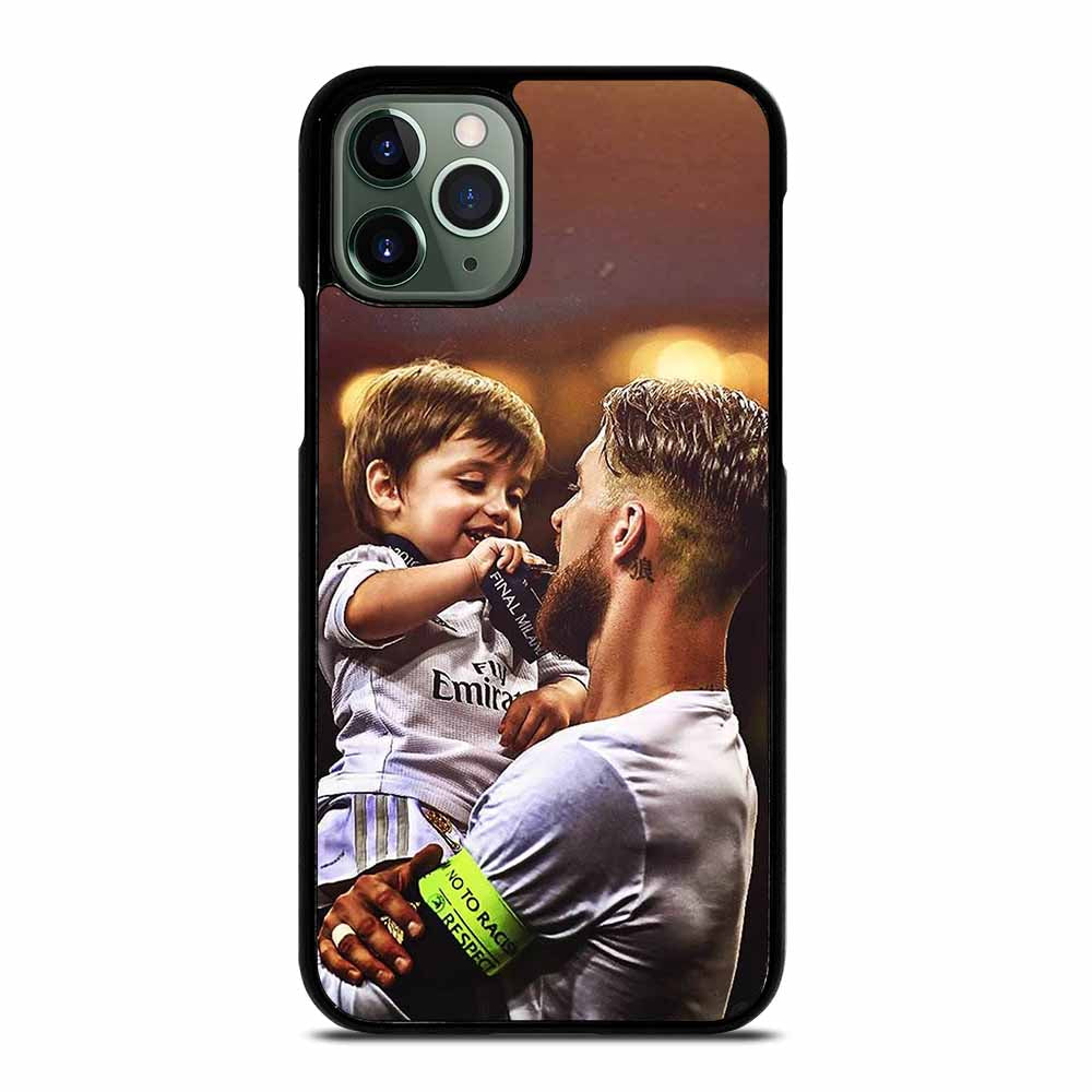 CAPTAIN REAL MADRID SERGIO RAMOS #1 iPhone 11 Pro Max Case