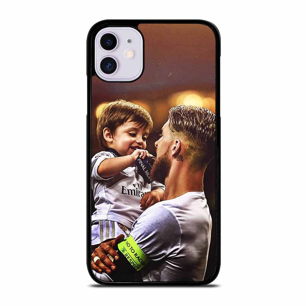 CAPTAIN REAL MADRID SERGIO RAMOS #1 iPhone 11 Case