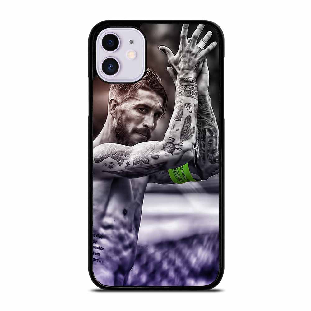 CAPTAIN REAL MADRID SERGIO RAMOS #2 iPhone 11 Case