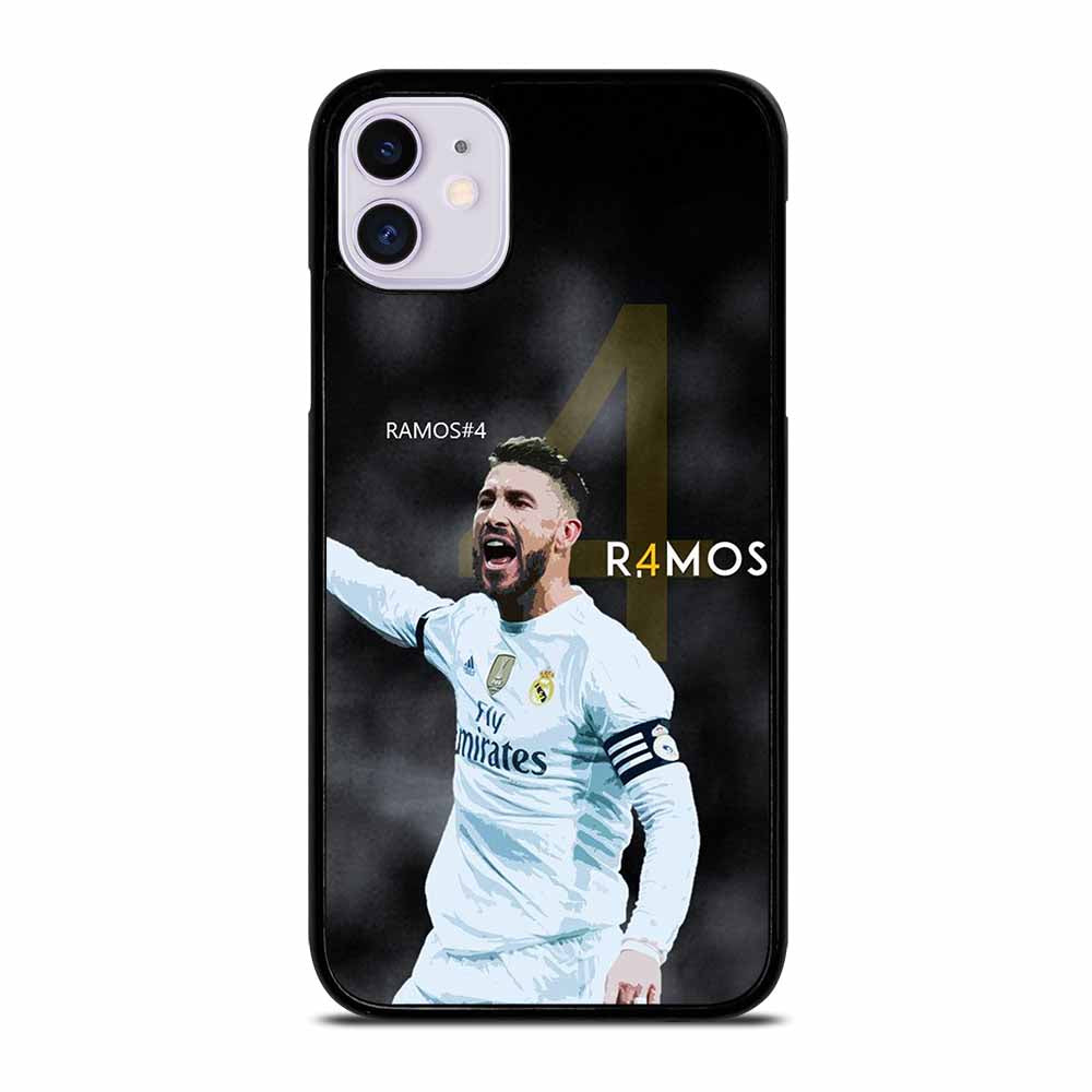 CAPTAIN REAL MADRID SERGIO RAMOS iPhone 11 Case