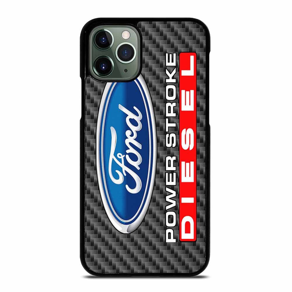 CARBON ORD POWERSTROKE DIESEL LOGO iPhone 11 Pro Max Case